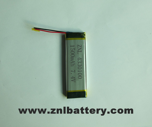 Polymer Li-ion Batteries PACK
